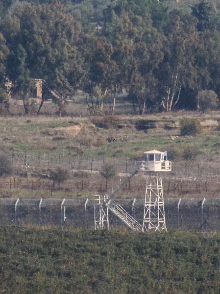 171 - guardhouse along Syrian border