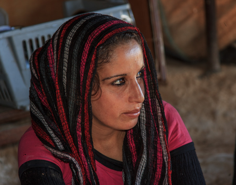158 - Young Bedouin woman