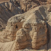 135 - Qumran Caves where Dead Sea Scrolls were found by a Bedouin shephard