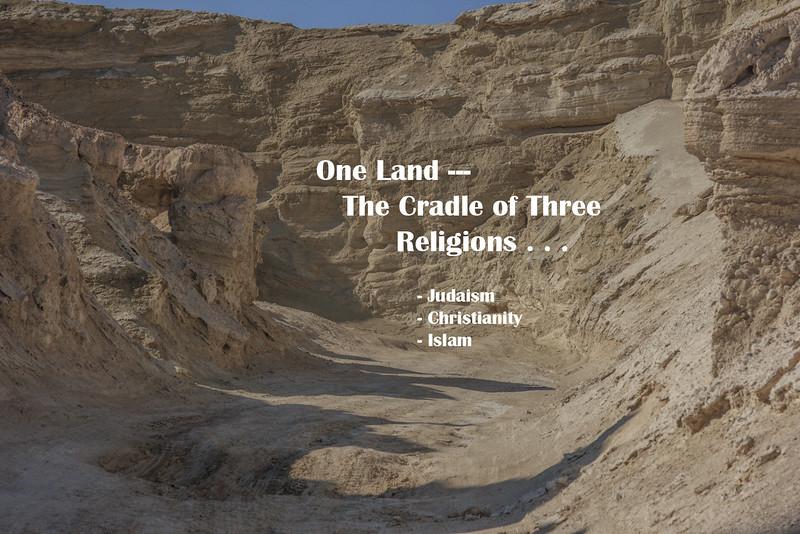 3 - One Land - the Cradle of Three Religions