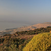 062 - Hills on the side of the Sea of Galilee - in the early morning