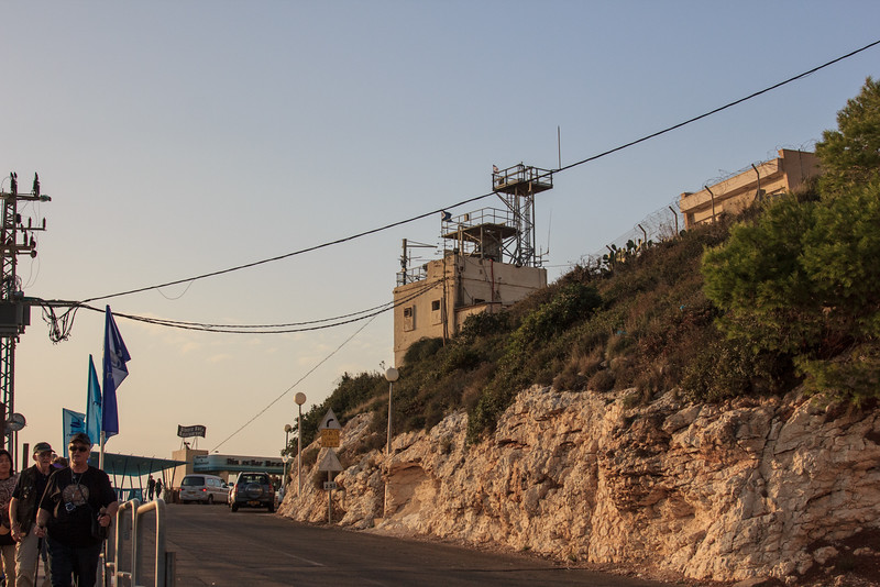169 - Guard area on Israel-Lebanon border