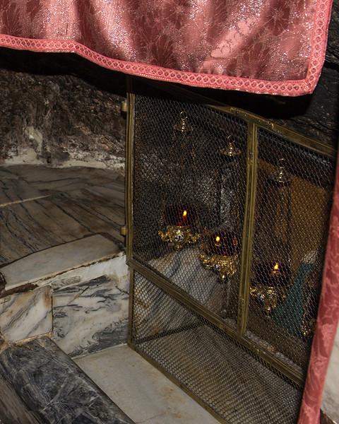 057 - Church of the Nativity - where Jesus' manger stood