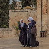 132 - Muslin women visiting the Dome of the Rock