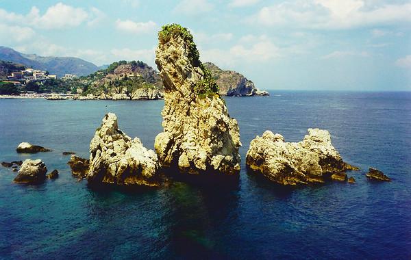 Coast of Sicily, Italy.