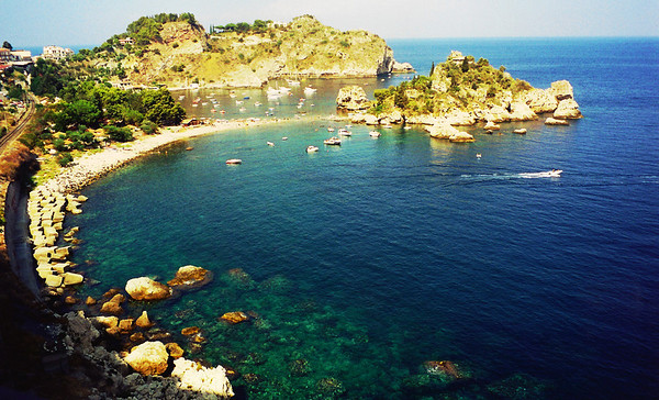Eastern coast of Sicily, Italy.