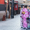 Wandering in Gion district of Kyoto.