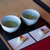 Green tea cermony at HamaRikyu gardens