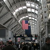 Chicago Airport, Terminal C in route to Japan for first time
