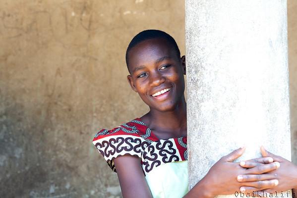 A singing girl from Malinda