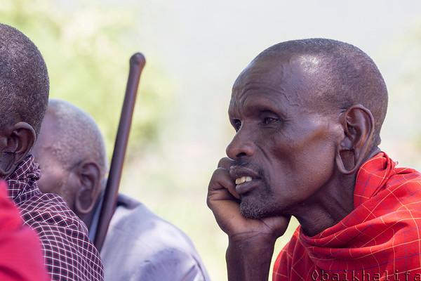 Maasai man from Namanga Kenya