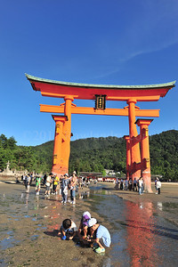 Lost in Translation ...Miyajima... Floating Torii, Japan - ©Rawlandry