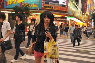 Tokyo Nights - Street Scenes - ©Rawlandry