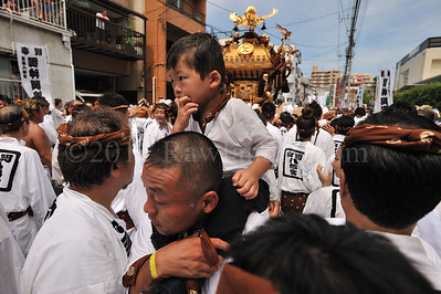 Lost in Translation ...Mikoshi Matsuri... Tomioka Hachimangu Shrine, Japan - ©Rawlandry