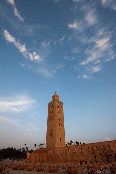 Koutoubia Mosque  جامع الكتبية