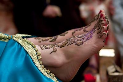 Moroccan Bride Hinna