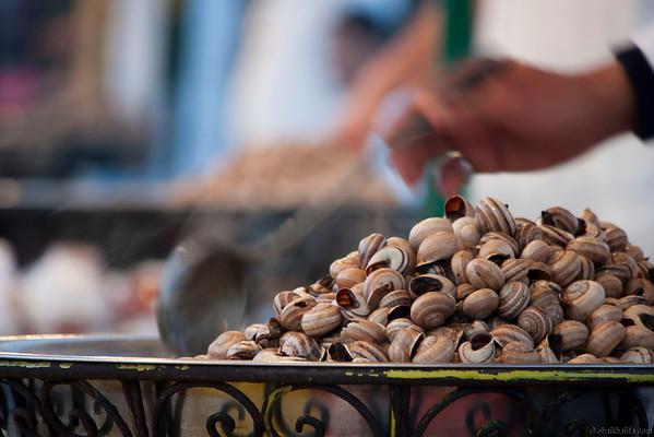 شوربة الحلزون او الببوش Snails Soup Jamaa el Fna (Al Fana Mosque Square)