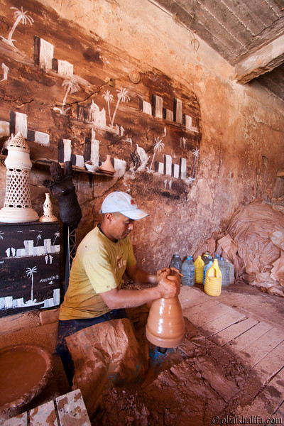 Pottery industry in the coastal city of Safi