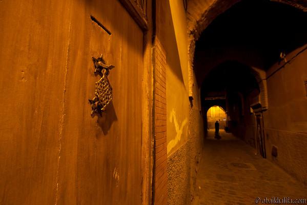 Marrakech. Derb Zaouia
