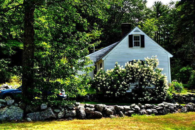 Carol's house  in Hillsboro Center, New Hampshire