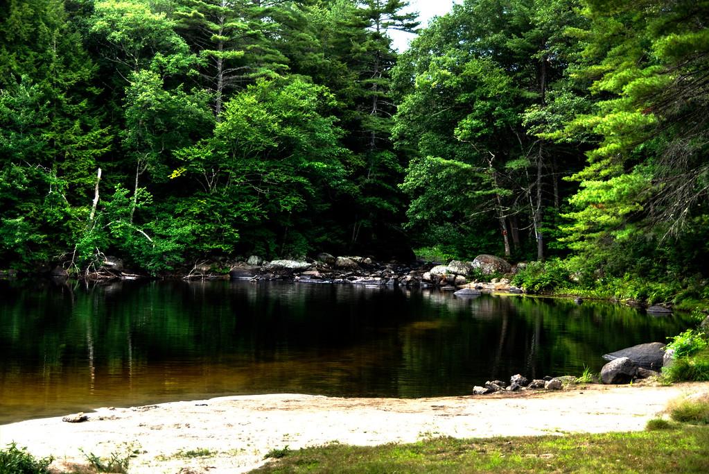 Beard Brook - childhood swimming hole