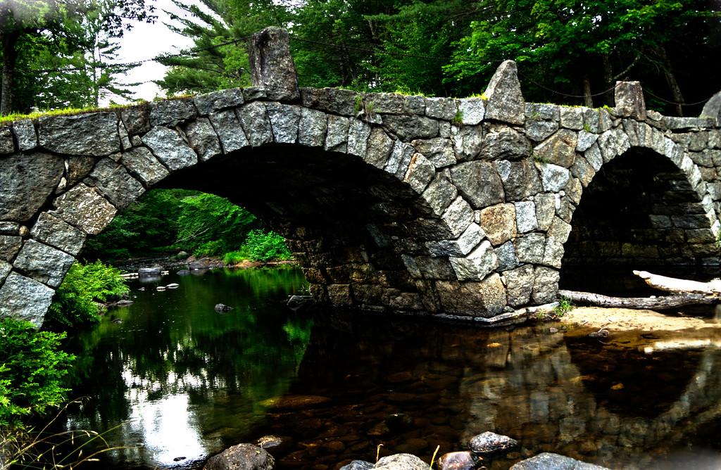 Arch Bridge, Hillsboro Center, New Hampshire