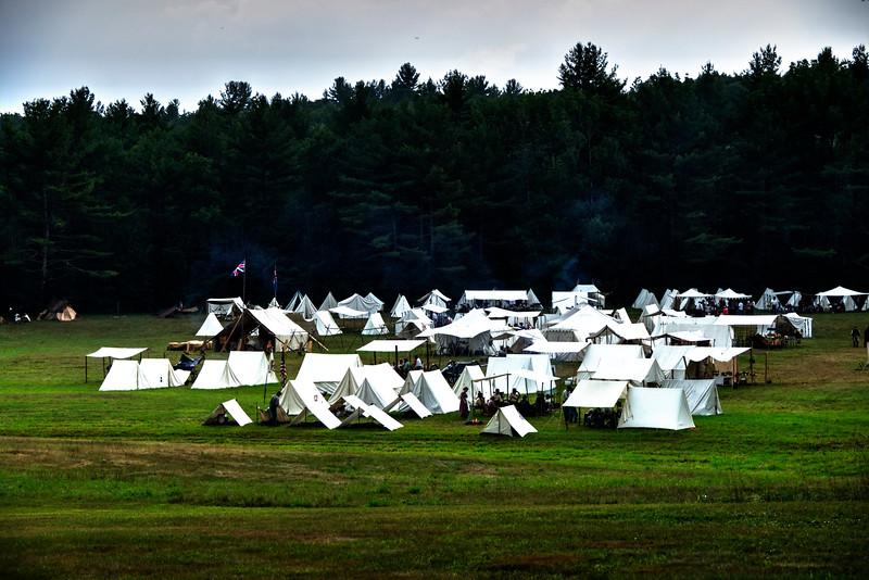 civil war re-enactment, Hillsboro Center, New Hampshire