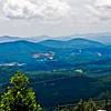 I know now why they are called The Blue Ridge Mountains!