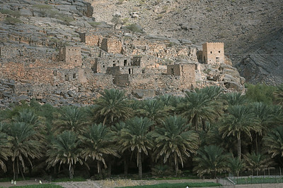 ruins, on the way to Jabel Shams (Oman's highest peak)