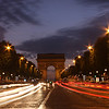 A classic Champs-Elysees long exposure