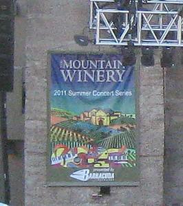 Mountain Winery Saratoga, CA