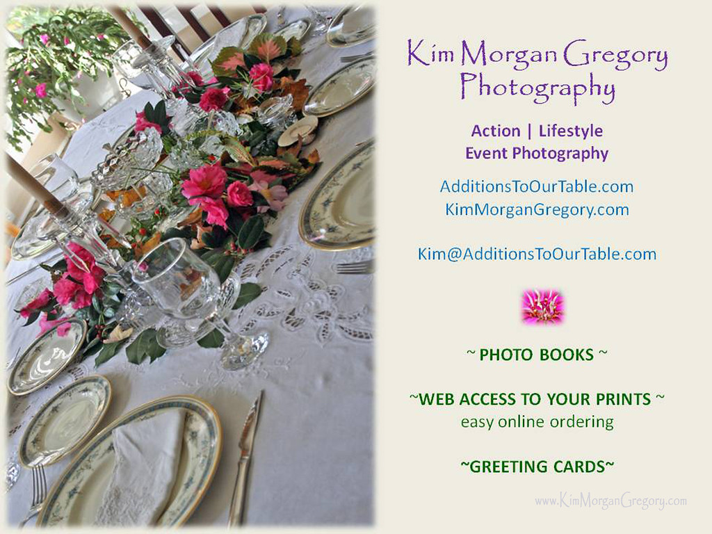 Kim Morgan Gregory Photography, Action | Event | Lifestyle Photography |Mt. Pleasant, SC | Photo Books | Web Access To Your Prints | Greeting Cards