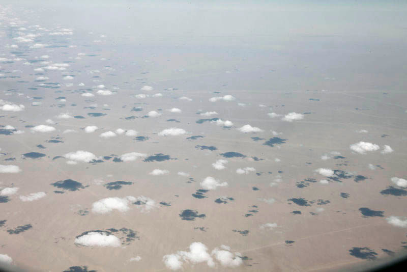 A03- Clouds over the Sahara Desert