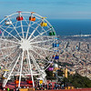 Tibidabo's Big Wheel