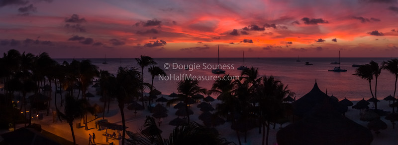 'Palm Beach Sunset'