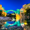 Mostar Old Bridge in Bosnia and Herzegovina