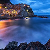 Manarola blue hour