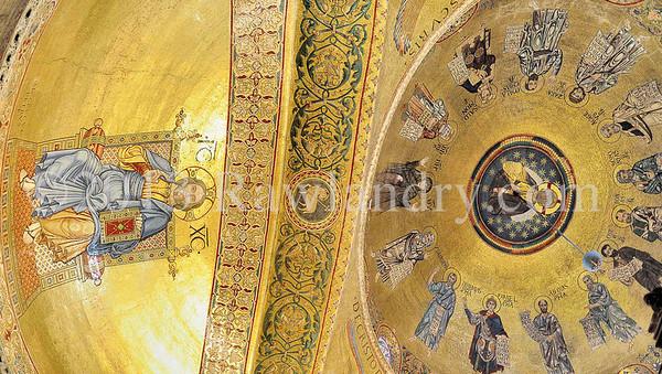 Christ Pantocrator Basilique San Marco Pano