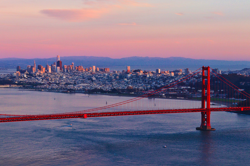 San Francisco Golden Hour