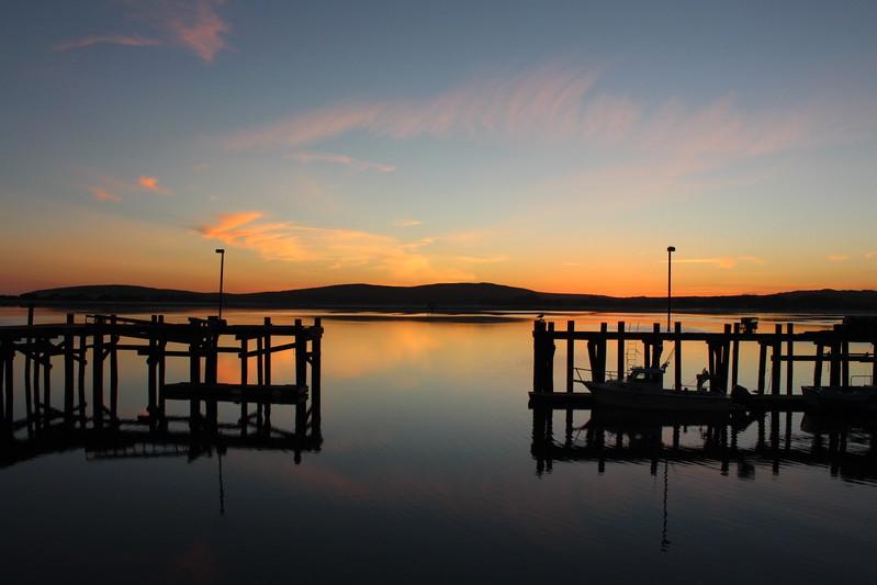 Lucas Wharf Sunset
