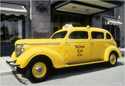 "Print title : "" YELLOW CAB """