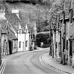 "Print title : "" CASTLECOMBE """