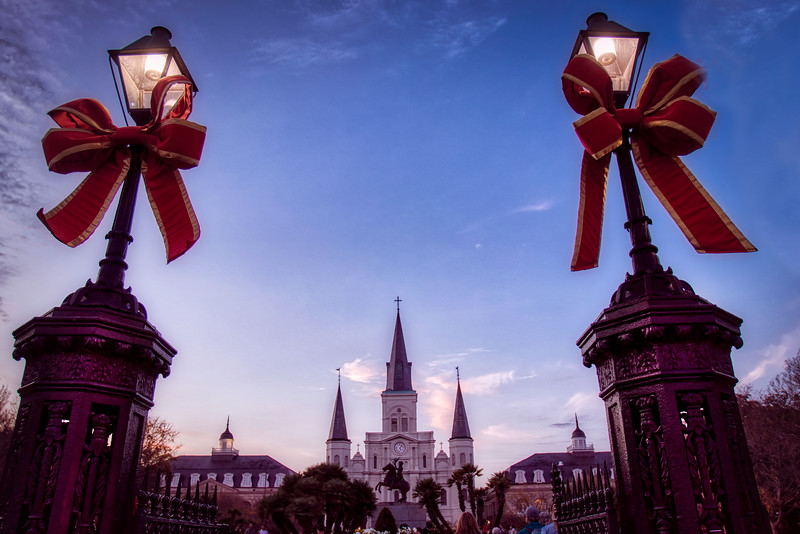 St. Louis Cathedral All Dressed Up