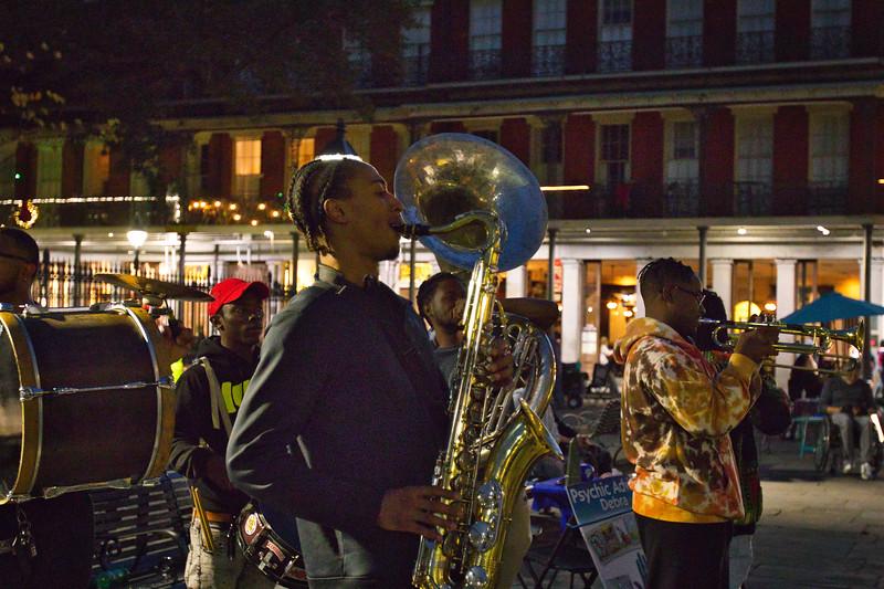 Musicians at Jackson Square