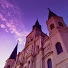 Saint Louis Cathedral at Blue Hour