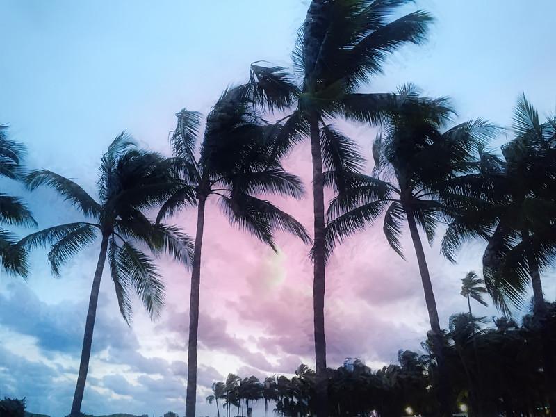 Sunset Miami Beach