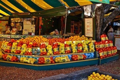 Fruit Stand, Homosassa, Florida