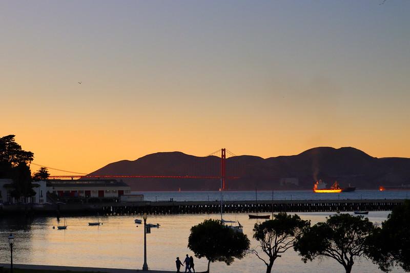 Golden Hour Golden Gate Bridge