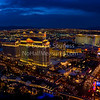 'Vegas at Dusk' - panorama<br /> 18 February 2012<br /> Las Vegas, Nevada, USA