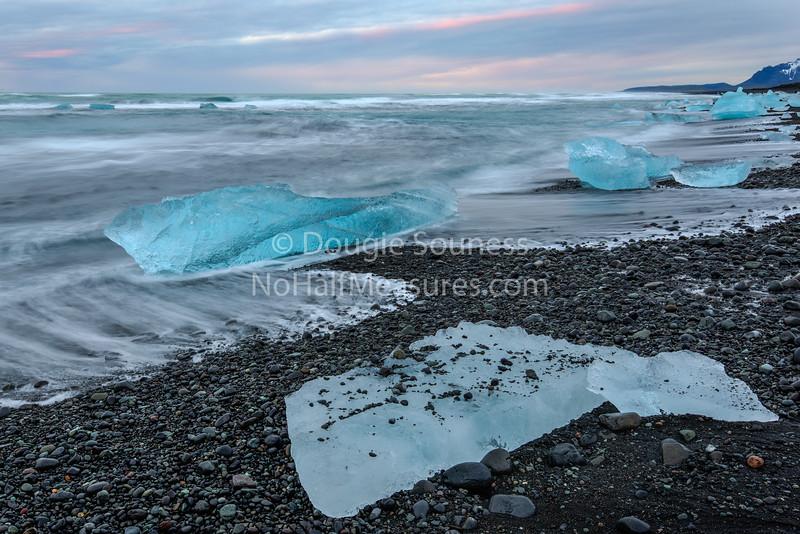 'Ice on the Beach'